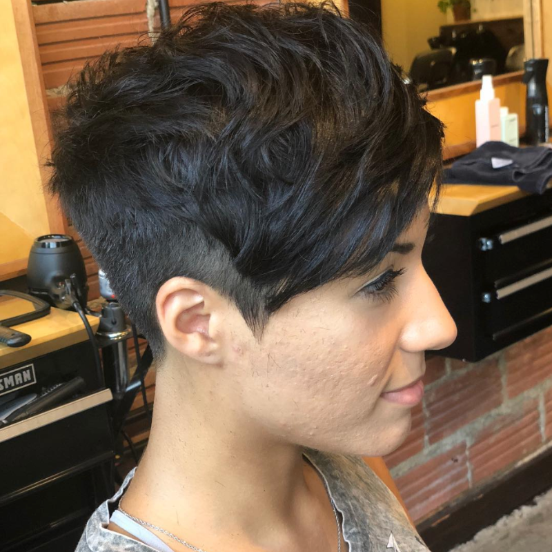 Bold & Unique Undercut Pixie