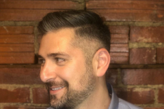 Clipper Cut on Side & Beard + Scissors