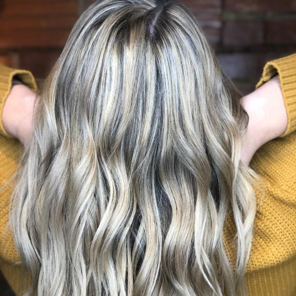 Gorgeous blonde color treatment